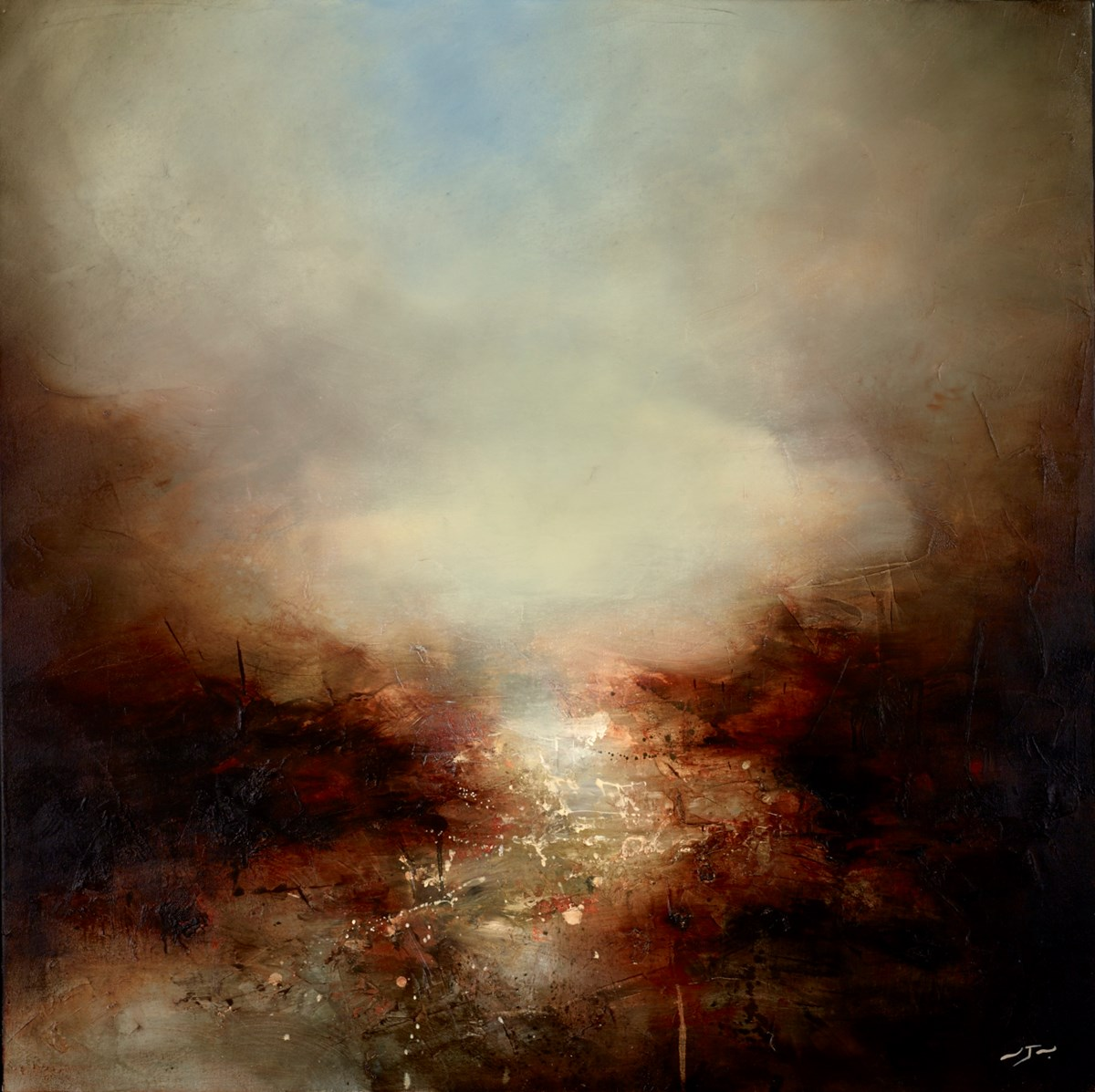 The Shrine by neil nelson -  sized 39x39 inches. Available from Whitewall Galleries